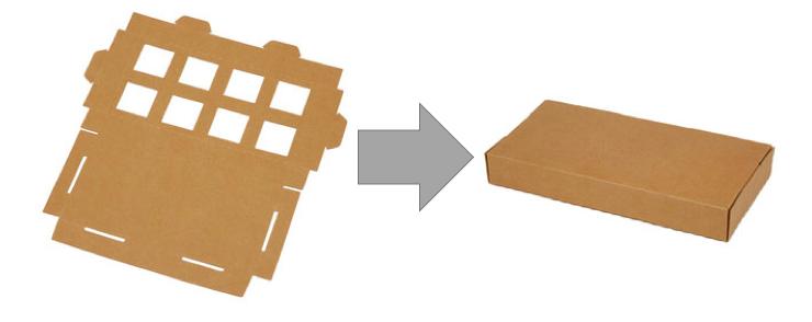 美國 Everblock Jr. 巨型紙板積木組4