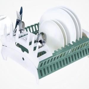 美國 Snapfold Disk Rack可摺疊 碗碟瀝水架1