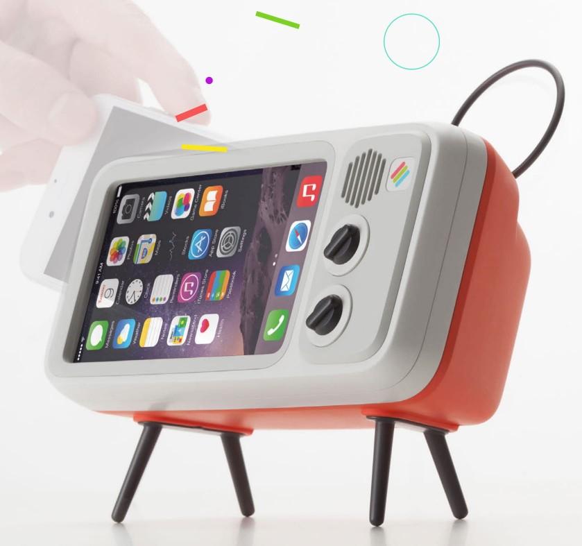 韓國 Retroduck 懷舊手機架2