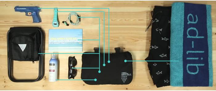 1ad-lib 變型背包 Packable Daypack 可摺疊背包