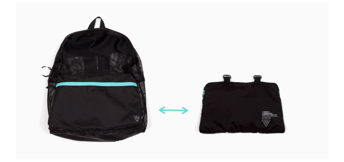 ad-lib 變型背包 Packable Daypack