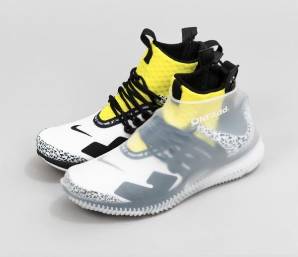 日本 RainSocks 雨天防滑鞋套_白色1