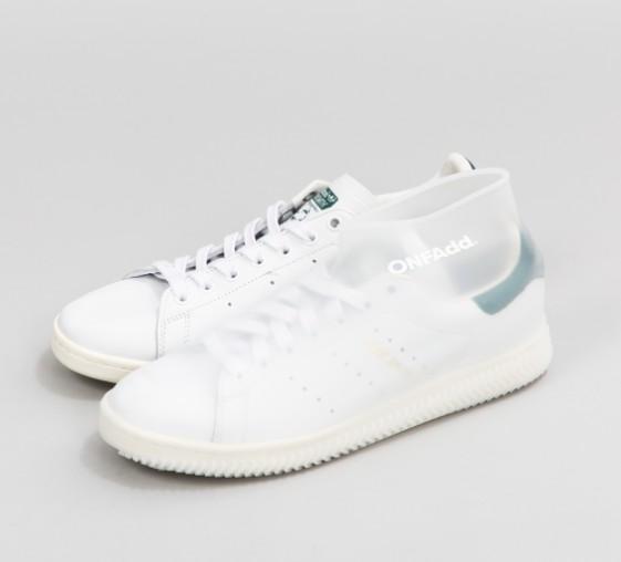 日本 RainSocks 雨天防滑鞋套_白色2