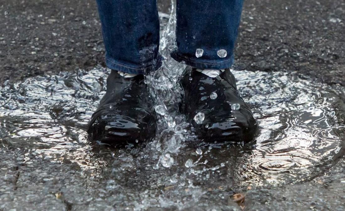 日本 RainSocks 雨天防滑鞋套_白色7