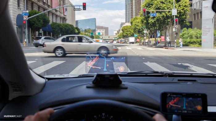 美國 Hudway Cast 駕車導航顯示屏10