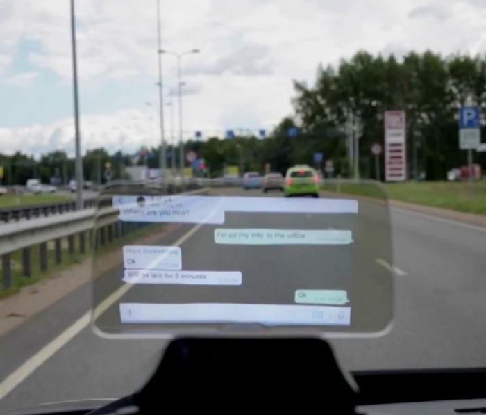 美國 Hudway Cast 駕車導航顯示屏2