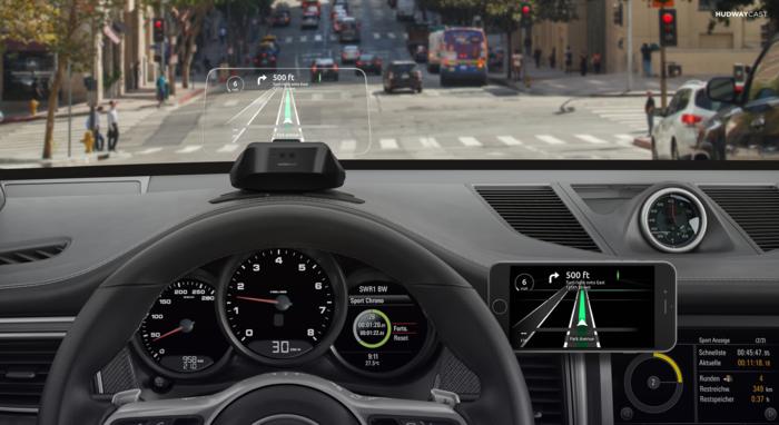 美國 Hudway Cast 駕車導航顯示屏6