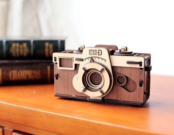 韓國 WOODSUM 木製菲林相機1