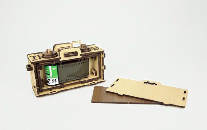 韓國 WOODSUM 木製菲林相機18