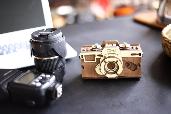 韓國 WOODSUM 木製菲林相機2