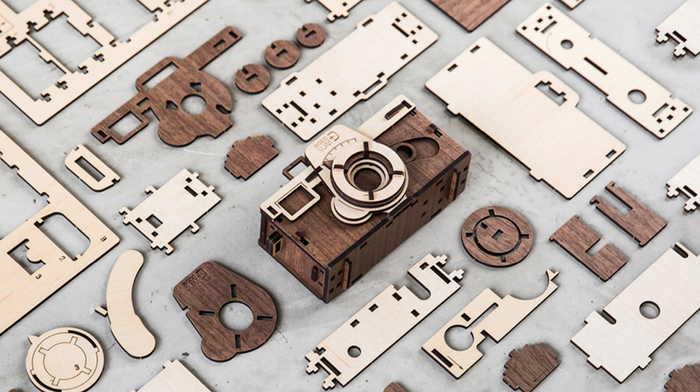 韓國 WOODSUM 木製菲林相機6