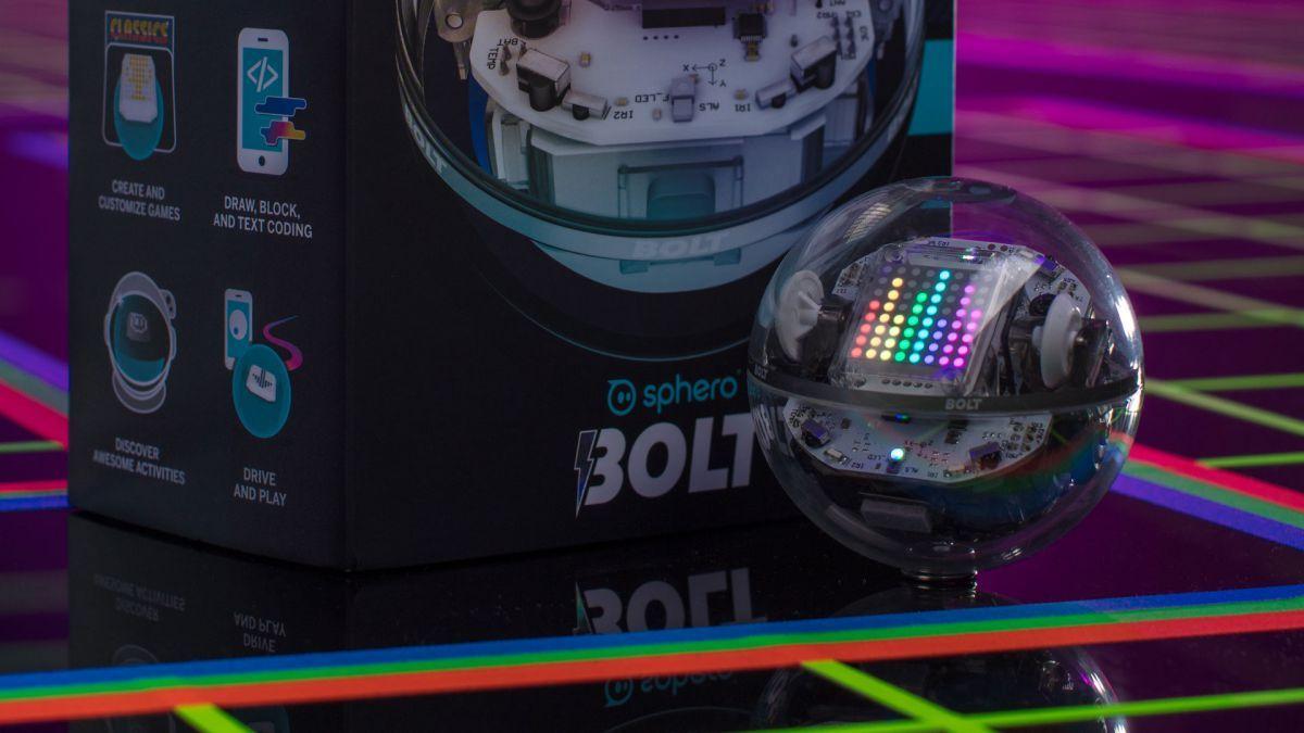 10美國 Sphero BOLT 教育機械旋轉球