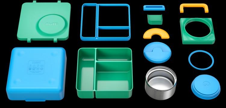 14美國Omiebox保冷保熱三層防漏餐盒