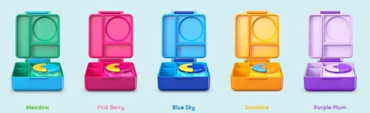 18美國Omiebox保冷保熱三層防漏餐盒