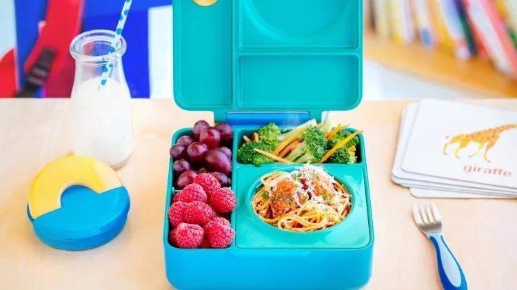 20美國Omiebox保冷保熱三層防漏餐盒