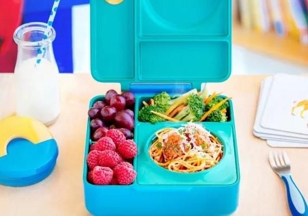 3美國Omiebox保冷保熱三層防漏餐盒
