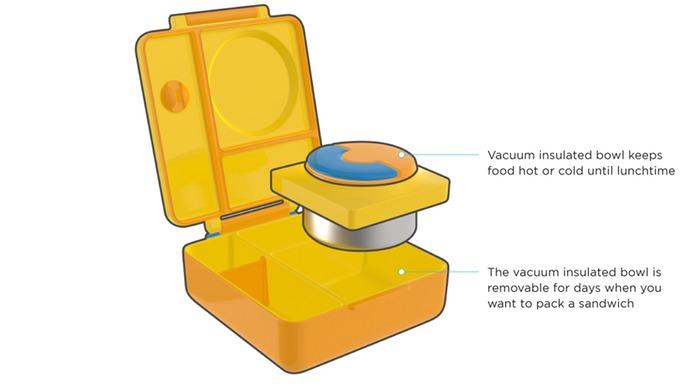9美國Omiebox保冷保熱三層防漏餐盒