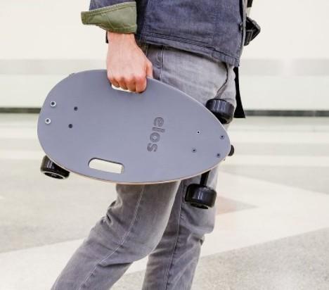Elos Skateboard 經典都會手工滑板 10