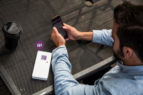 Fonebud W 全球4G Wi-Fi 熱點 充電器4