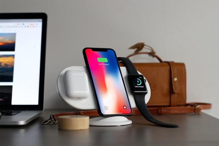 plux 蘋果無線充電板
