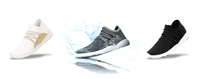 Vessi 全球首對 100 防水針織 運動鞋