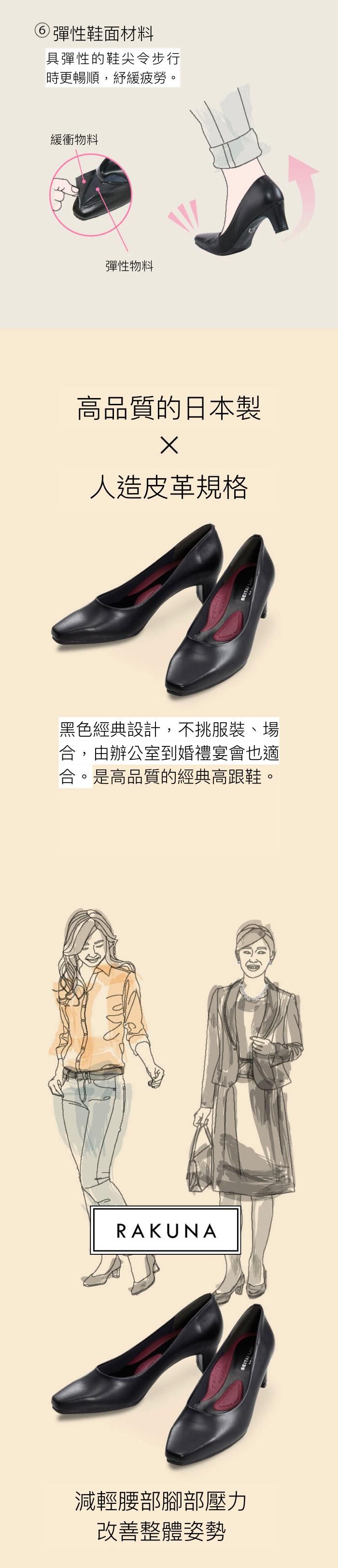 日本 RAKUNA 整體 鞋墊8