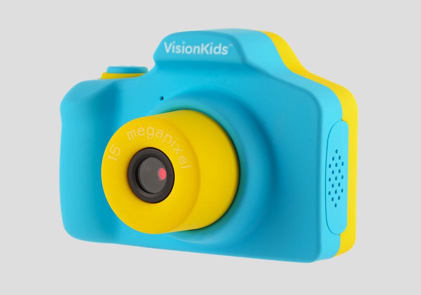 日本 VisionKids Happi CAMU 兒童攝影相機 blue