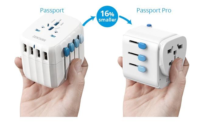 美國 Passport Pro 2合1 旅行轉插頭35