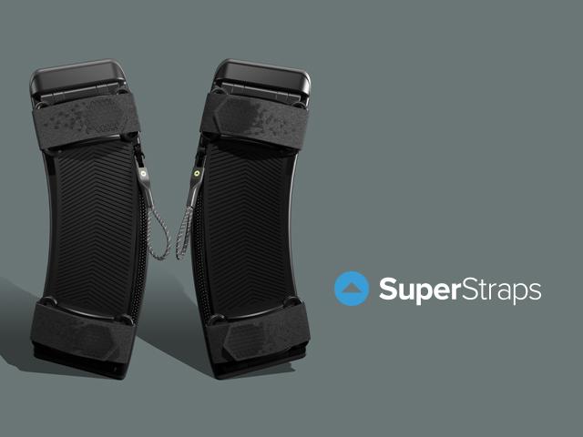 美國 SuperStraps 減重背包墊 減壓體重 舒服