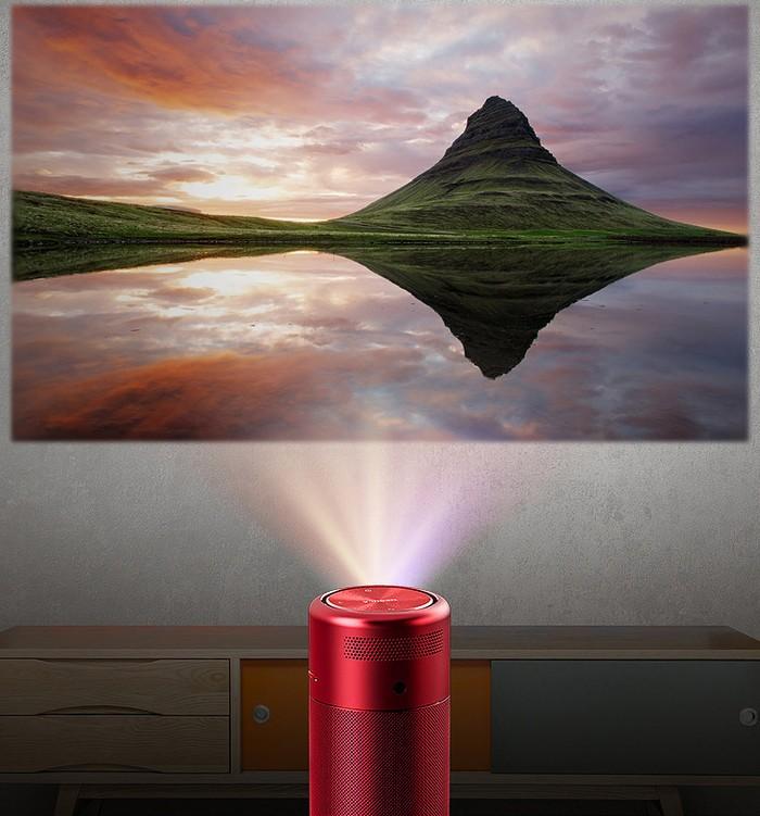 23美國NEBULA Capsule 可樂罐微型智能投影機