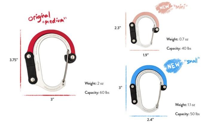5新一代 美國 Heroclip MINI版 多功能扣環掛勾
