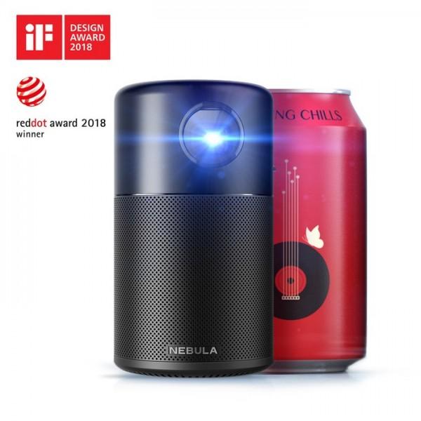 8美國NEBULA Capsule 可樂罐微型智能投影機