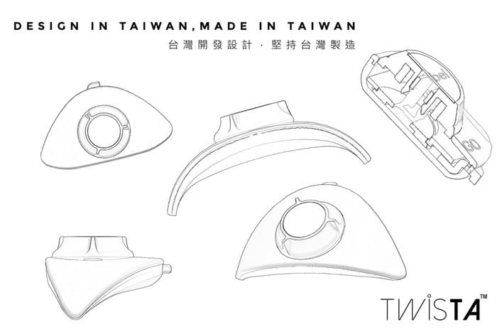 台灣 TWISTA 免綁 鞋帶鈕14