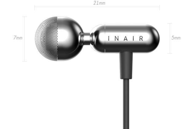 日本 Inair 首個耳內揚聲器abc
