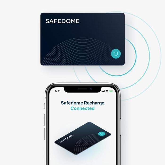 澳洲 Safedome Recharge 世界最薄 藍牙追蹤卡8
