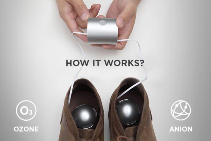 美國 Gotek 鞋子除臭消毒器5