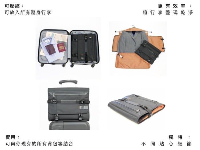 英國 PLIQO 旅行服裝 收納包1