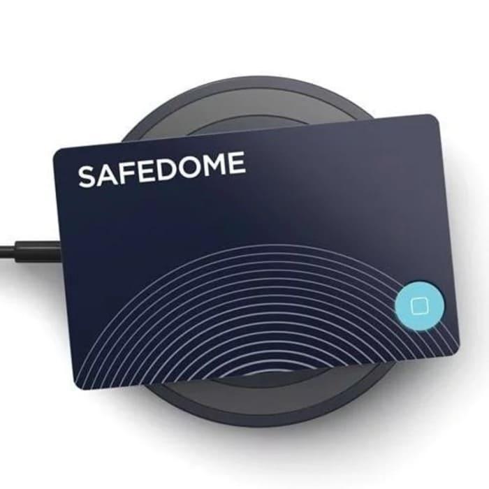 1澳洲 Safedome Recharge 世界最薄 藍牙追蹤卡