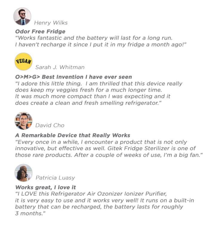 7Gotek 智能 冰箱 消毒除臭器