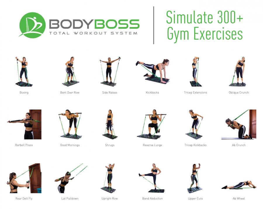 Body Boss 2.0 exercise