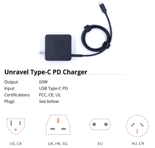 unravel charger