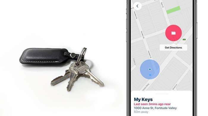 澳洲 Safedome 真皮藍芽追蹤鑰匙扣1