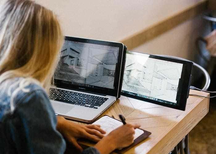 美國 DUEX 筆電 雙屏顯示器11
