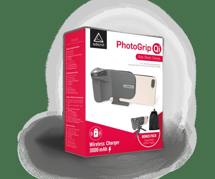 美國 Photogrip 無線充電 手機握把15