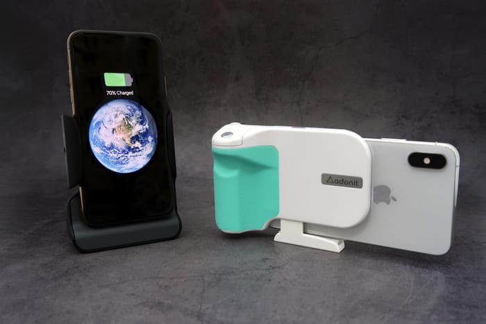 美國 Photogrip 無線充電 手機握把9