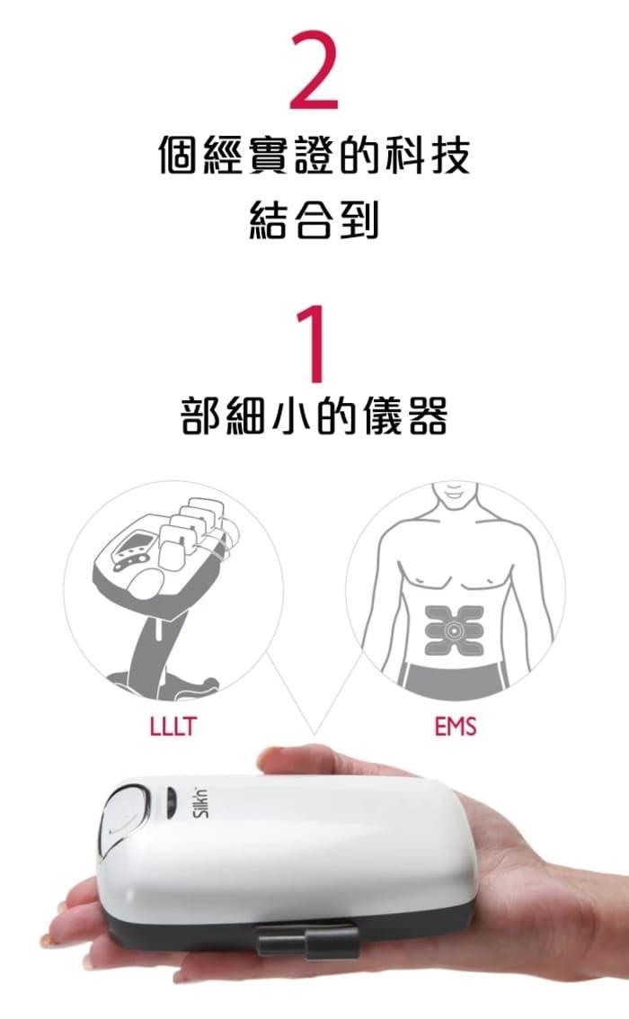 以色列 Silk'n Lipo 首部FDA認證 光電溶脂儀12