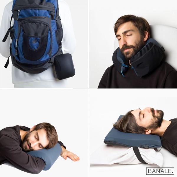 意大利 OMNI 3合1 多功能旅行枕