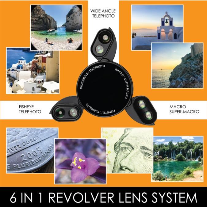 iPhone X Case - 6 in-1-Lens