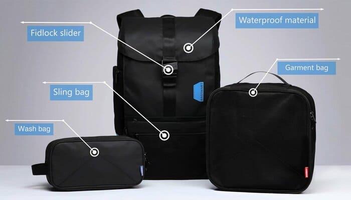 美國 Bagsmart 減重 相機背包16組合X