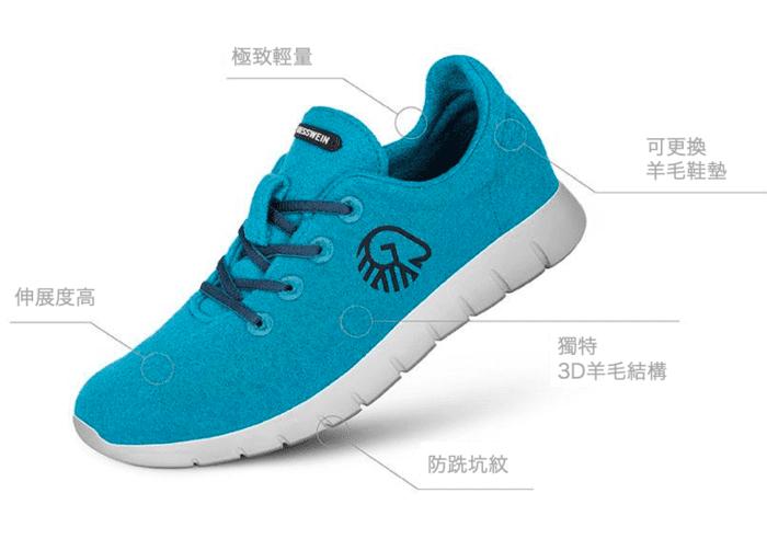 1奧地利 Merino Runners 史上最柔軟 運動鞋 (1)